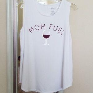 "Apt 9 ""Mom Fuel"" Red Wine Tank"